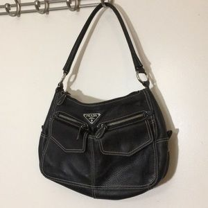 Prada Milano Vitelli danio shoulderbag